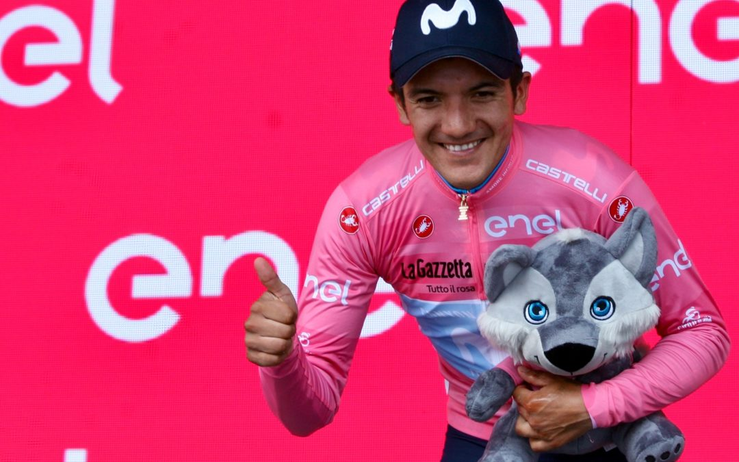 Ecuadoraanse winnaar van de Giro start in Etten-Leur